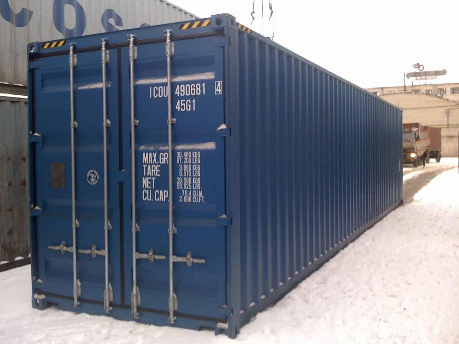 Dimension container achetez votre container ici le for Prix d un container maritime